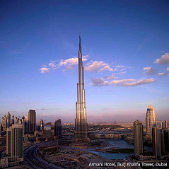 Armani Tower in Burj Khalifa
