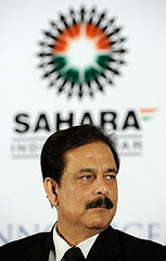 SEBI demands the arrest of Subrata Roy, the chief of Sahara.