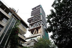 Antilla is the home of Mukesh Ambani.