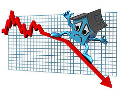 Home sales fall as the sentiments of property buyers are hurt by higher prices.