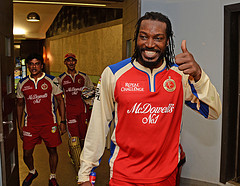Chris Gayle is made the brand ambassador of a real estate firm.
